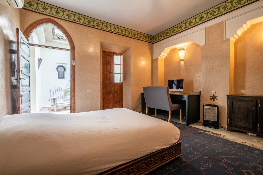 Double bedroom 1 of Adilah riad in Marrakech