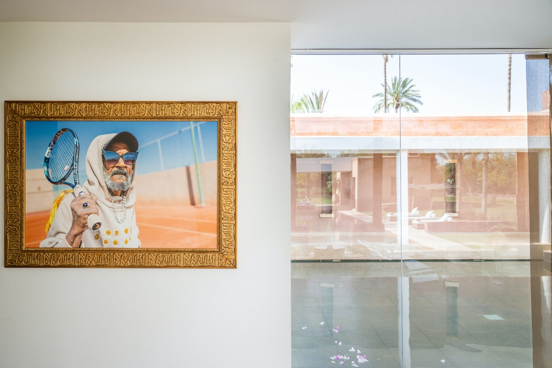 Photography artwork by Amine Bendriouich at Zagora private villa in Marrakech