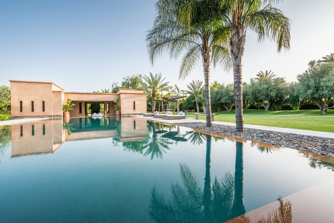 Private pool with studio at Marhba luxury private villa in Marrakech