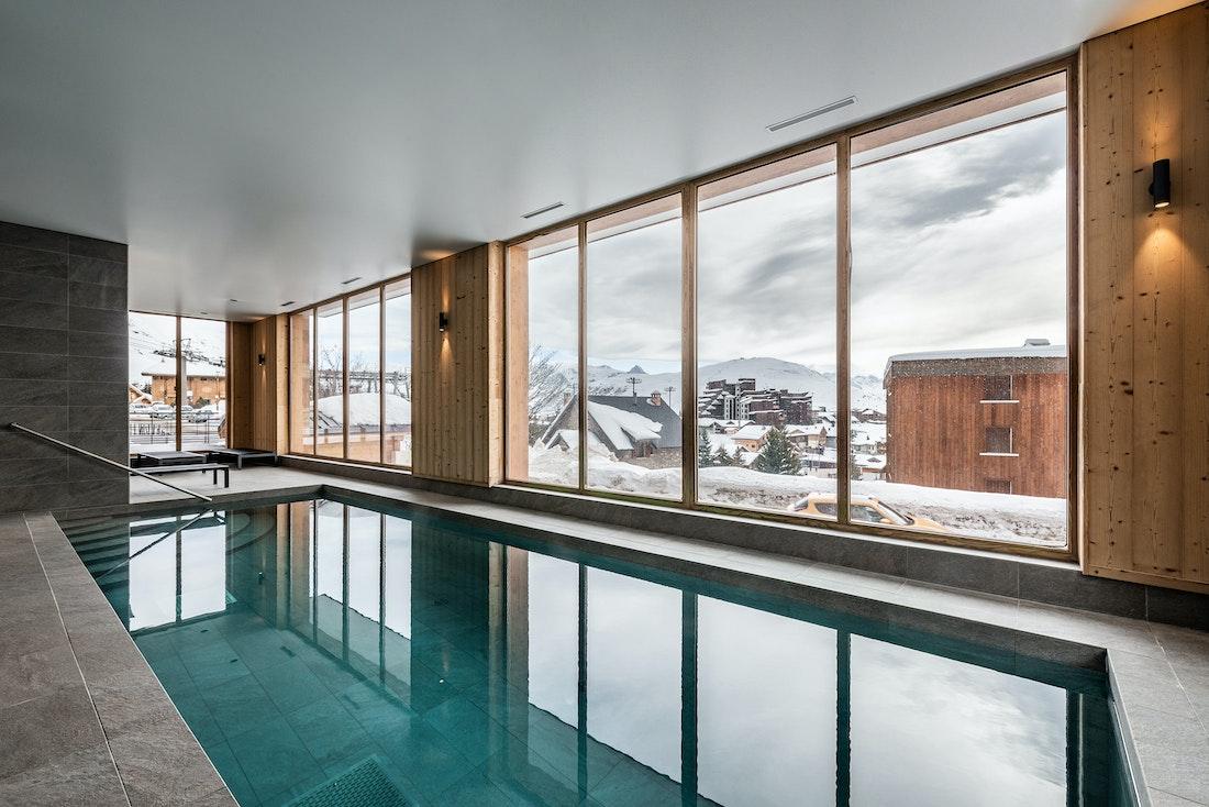 hameau de clotaire heated pool