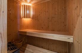Sauna privé pierres chaudes appartement Itauba Courchevel 1850