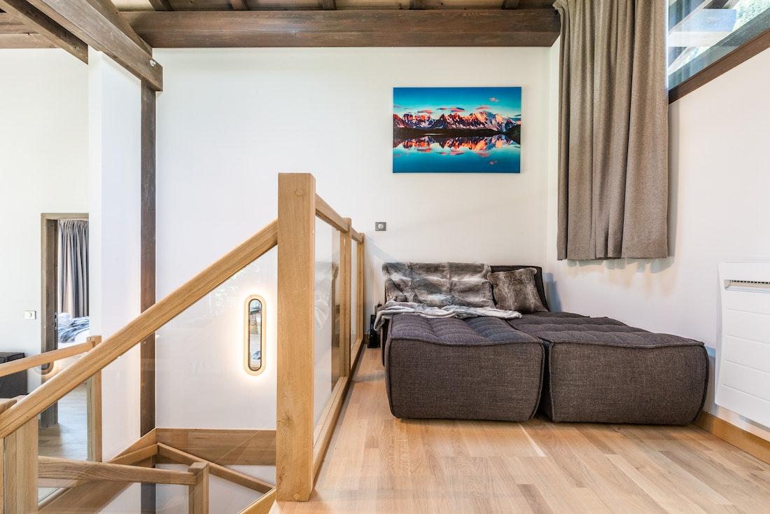 Cosy snug widescreen television luxury family chalet Jatoba Chamonix