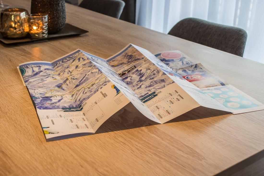 Ski map of Portes du Soleil