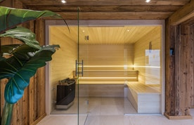 Modern bathroom at Kauri accommodation in Morzine