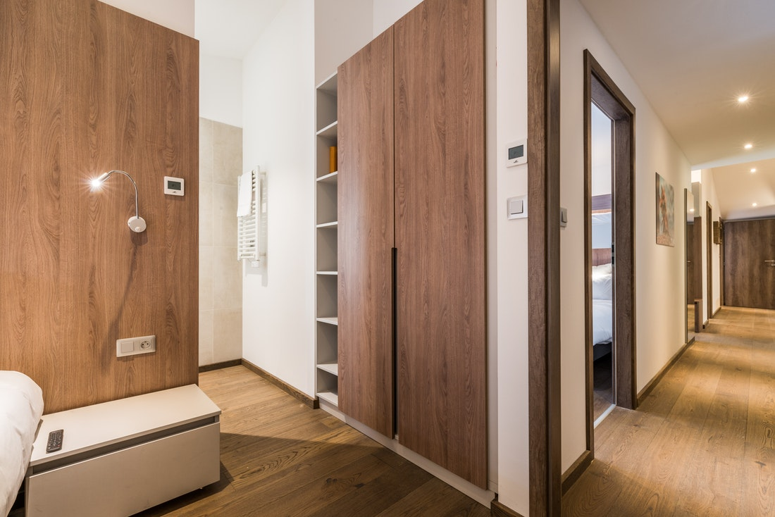 Large view of a double bedroom at Kauri accommodation in Morzine