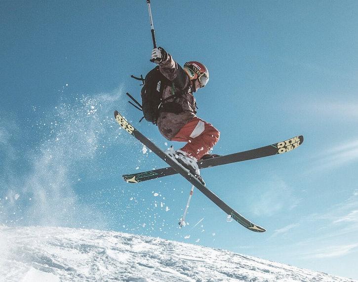Skiing Resort in Courchevel